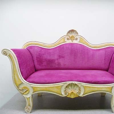 Nettoyage de fauteuil style Baroque